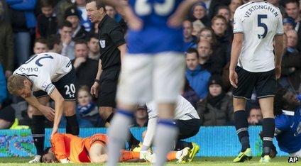 Hugo Lloris for Everton