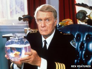 George Gaynes as Commandant Eric Lassard in the Police Academy series