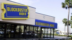 Blockbuster video rental store is shown in Miami, Florida 11 March 2005