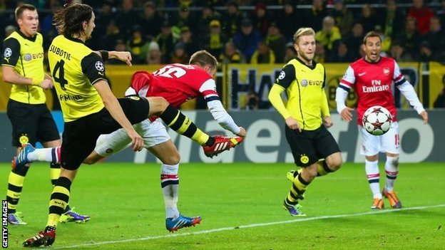 Pronostic Borussia Dortmund – Arsenal 16.09.2014 thumbnail