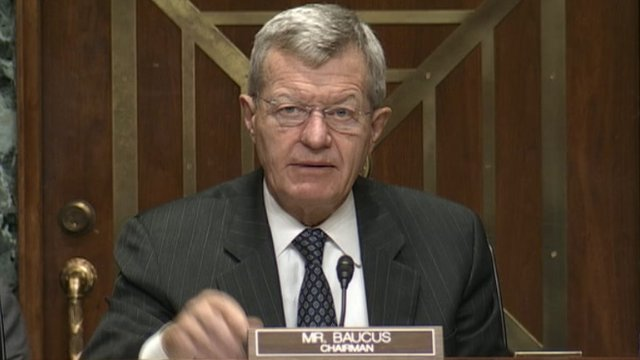 Max Baucus, Democratic senator from Montana