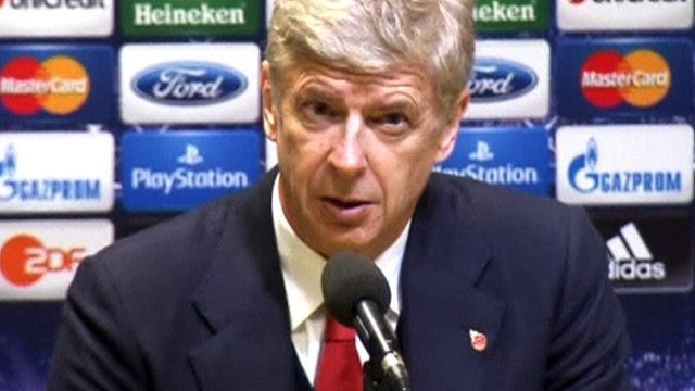Arsene Wenger speaks after Arsenal's 1-0 Champions League victory over Borussia Dortmund.