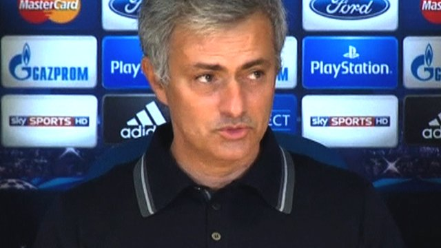 Jose Mourinho discusses Chelsea's 3-0 Champions League win over Schalke