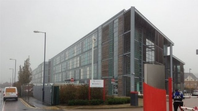 Welsh government's Aberystwyth office