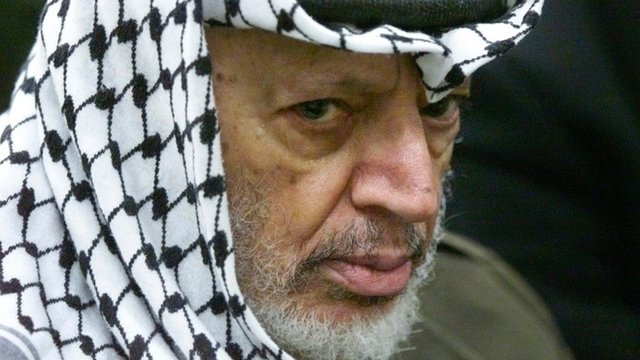Palestinians eye Israel over Arafat