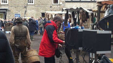 Jamaica Inn  filming