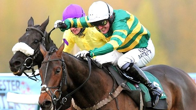 AP McCoy on his 4,000th winner Mountain Tunes