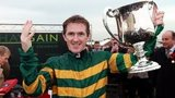 AP McCoy celebrates 4,000th win