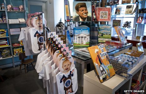JFK museum gift shop