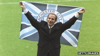 Former Manchester City manager Steve Coppell