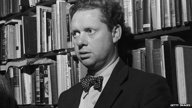 Dylan Thomas at the Gotham Book Shop, New York in 1952