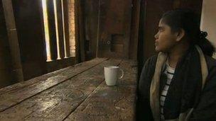 A Tamil rape survivor, who we are calling Nandini