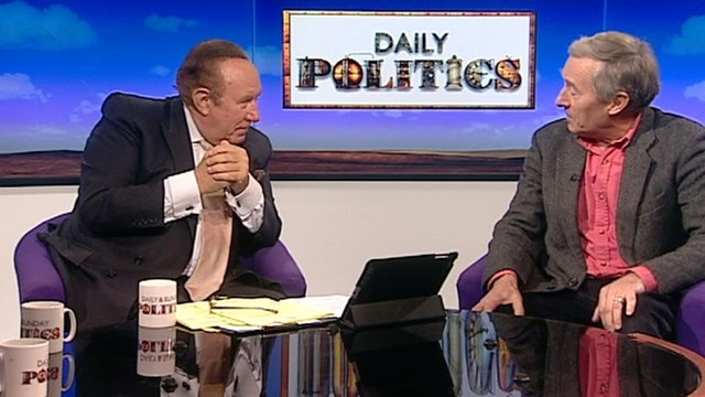Andrew Neil and Nicholas Jones