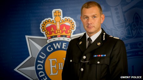 Gwent Police Chief Constable Jeff Farrar