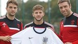 Jay Rodriguez, Adam Lallana and Rickie Lambert