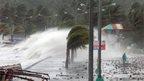 Winds hit Legaspi, Albay province
