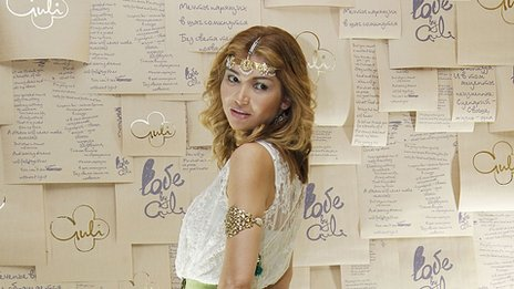 Gulnara Karimova at the StyleUz art week she organises annually