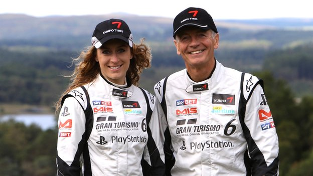 Amy Williams and Tony Jardine