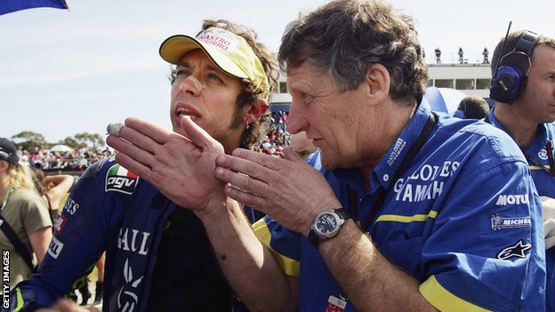 Valentino Rossi & Jerry Burgess
