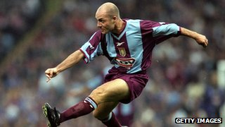 Former Aston Villa defender Alan Wright