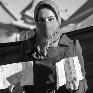 Tamara, Syrian refugee