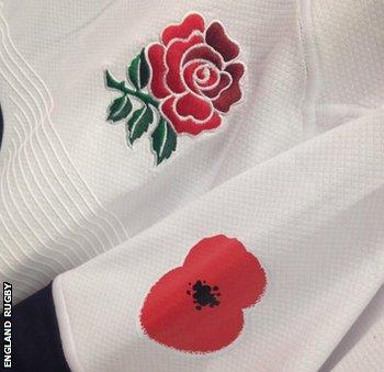 England poppy shirt