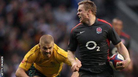 Chris Ashton and Drew Mitchell