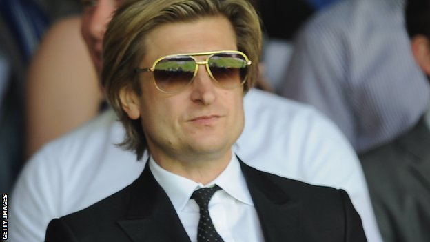 Crystal Palace co-chairman Steve Parish