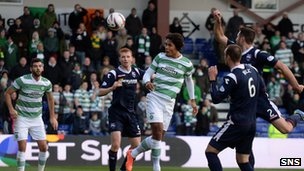Virgil van Dijk heads Celtic in front