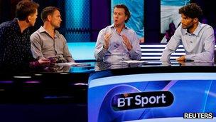 BT sport presenters