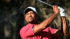 Tiger Woods in third-round action