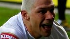 Ryan Hall scores twice for England