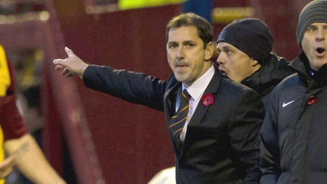Dundee United manager Jackie McNamara