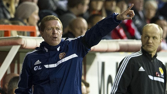 Hearts manager Gary Locke