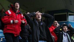 Brackley fans