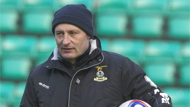 Inverness CT assistant manager Maurice Malpas
