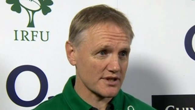 New Ireland coach Joe Schmidt