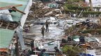 Devastation at Tacloban airport after Typhoon Haiyan. 9 Nov 2013