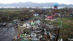 Devastation in Tacloban after Typhoon Haiyan