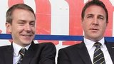 Malky Mackay (right) with Iain Moody