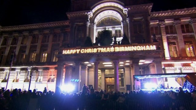 Birmingham Christmas lights