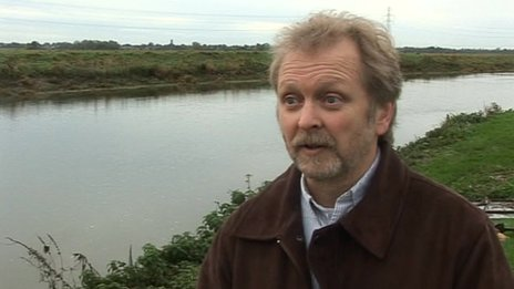 Road safety campaigner Graham Chappell