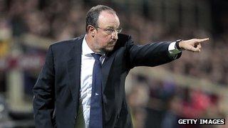 Napoli manager Rafael Benitez