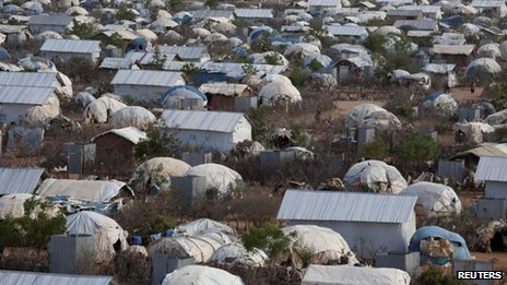 The Dadaab refugee camp, Oct 2013