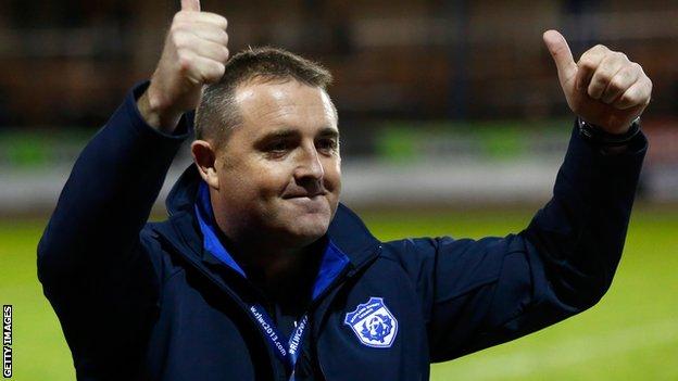 Scotland coach Steve McCormack
