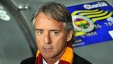 Galatasaray manager Roberto Mancini