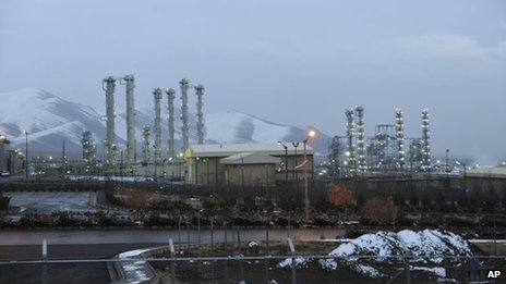 Arak heavy-water plant in Iran (2011)