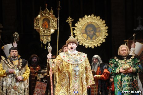 A performance of Boris Godunov