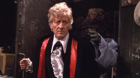 Jon Pertwee in 1971's The Sea Devils