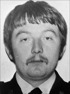 RUC Reserve Constable John Proctor, 25, was murdered by the IRA in the car park